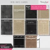Build Your Basics Info Cards Kit