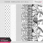 Paper Templates Kit #170