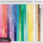 Build Your Basics Bokeh Papers Kit