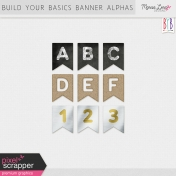Build Your Basics Banner Alphas Kit