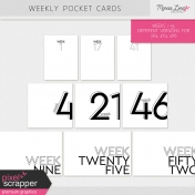 Weekly Pocket Cards Kit #2