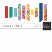 Challenged Washi Tape Kit