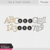 Tea & Toast Alphas Kit