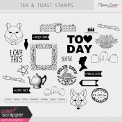 Tea & Toast Stamps Kit