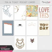 Tea & Toast Pocket Cards Kit