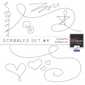 Scribbles Set #4 Kit