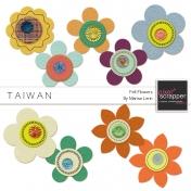 Taiwan Felt Flowers Kit