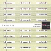 Taiwan Travel Labels Kit