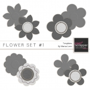 Flower Set 001 Kit (Felt)