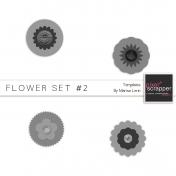 Flower Templates Kit #2