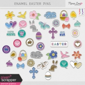 Easter Enamel Pins Kit