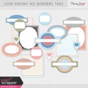 Love Knows No Borders Tags Kit