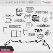 A Mug & A Book Stamps Kit