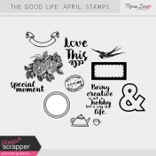 The Good Life: April Stamps Kit