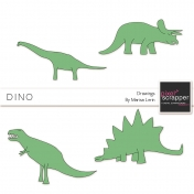 Dino Drawings Kit