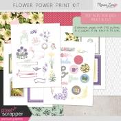 Flower Power Print Kit
