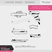 Vintage Images Kit- Banners