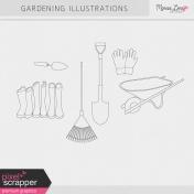 Garden Illustrations Kit