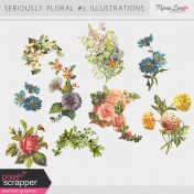 Seriously Floral #2 Illustrations Kit