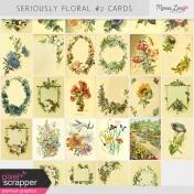 Seriously Floral #2 Pocket Cards Kit