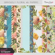 Seriously Floral #2 Papers Kit