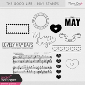 The Good Life: May Stamps Kit