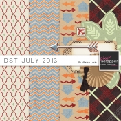 DST July 2013 Blog Train Kit