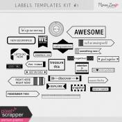 Label Templates Kit #1