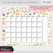 Oh The Places You'll Go Calendar Kit