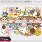 Oh The Places You'll Go Elements Kit