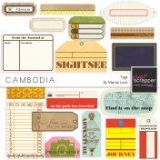 Cambodia Tags Kit