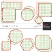 Cambodia Grid Tags Kit