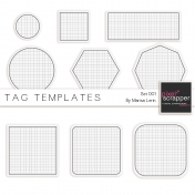 Tag Templates Set #1 Kit
