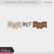The Good Life: June Alphas Kit