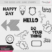 The Good Life: June Stamps Kit