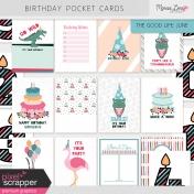 The Good Life: June Birthday Pocket Cards Kit