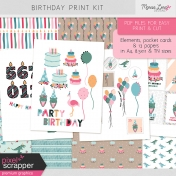 The Good Life: June Birthday Print Kit