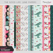 The Good Life: June Papers Kit