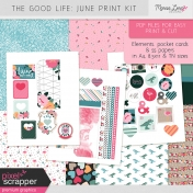 The Good Life: June Print Kit