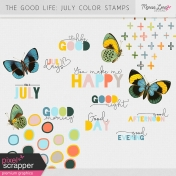 The Good Life: July Color Stamps Kit