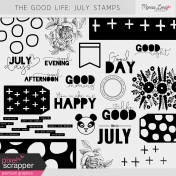 The Good Life: July Stamps Kit