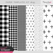 Paper Templates Kit #193
