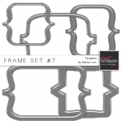 Frame Templates Kit #7- Plastic Brackets