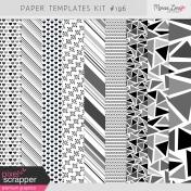 Paper Templates Kit #196
