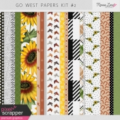 Go West Papers Kit #2