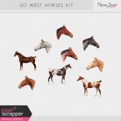 Go West Horses Kit