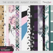 The Good Life: August Papers Kit #1