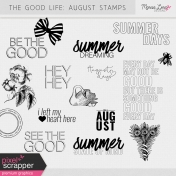 The Good Life: August Stamps Kit