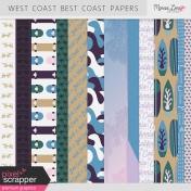 West Coast Best Coast Papers Kit