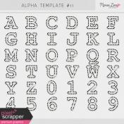 Alpha Template Kit #11